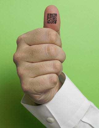 qr codes thumb