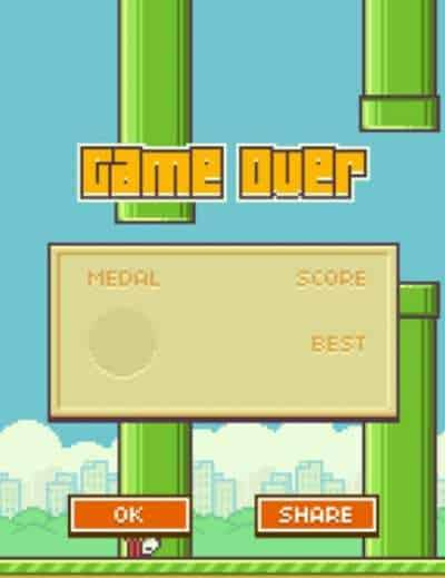 Flappy Bird mobile apps