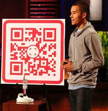 Shark Tank qr codes Scan
