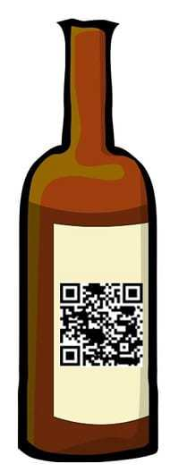 qr codes pernod bottle