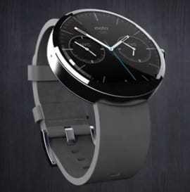 Moto 360 smartwatches