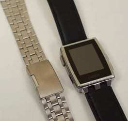The Pebble Steel smartwatch finally receives fashion approval