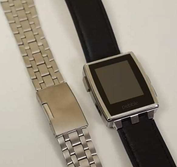 Pebble Steel Smartwatch mobile payments