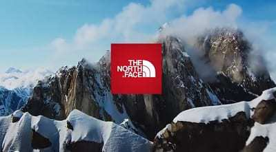 The North Face mobile shopping marketing