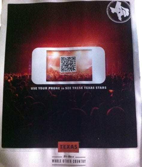 Travel Texas QR Codes