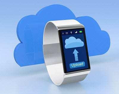 cloud smart watch gadgets wearable technology