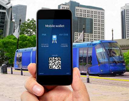 mobile wallet qr codes tickets