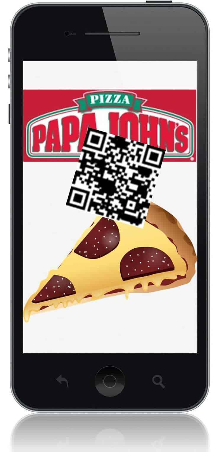 Papa John's Pizza QR Codes