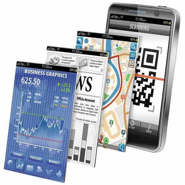 mobile Shanghai qr code news financial