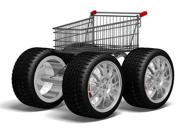 online shopping cart mobile commerce