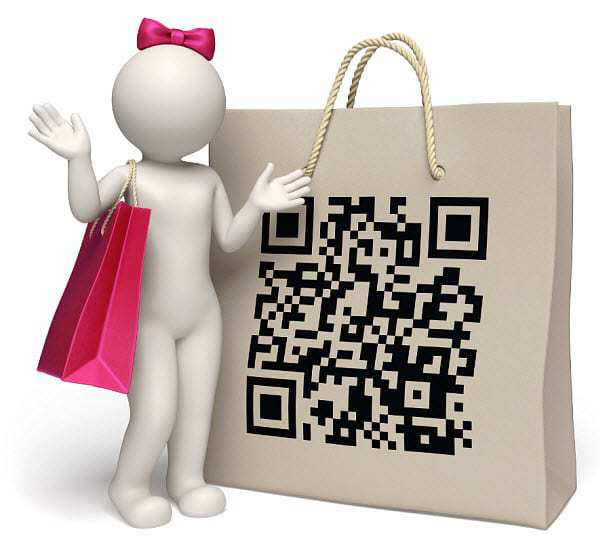 qr codes shopping