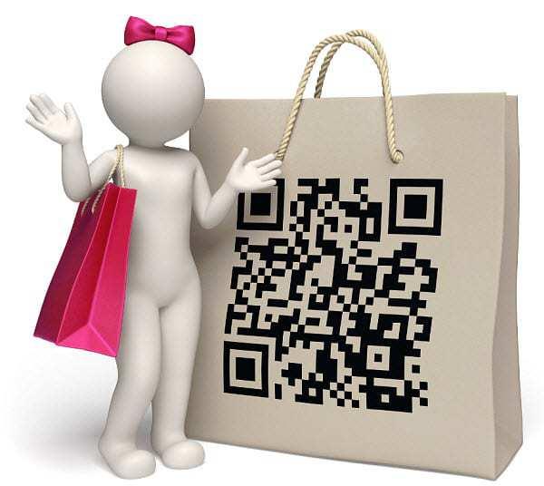 qr codes shopping