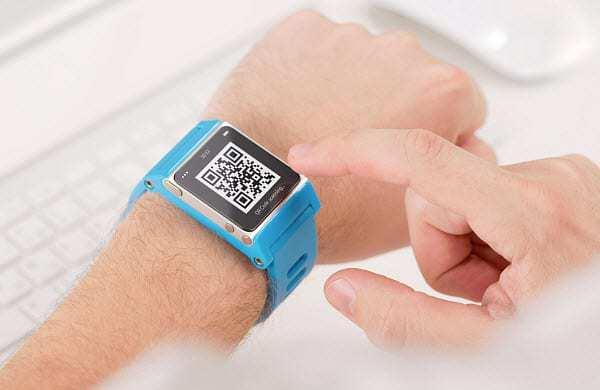 qr codes smartwatch