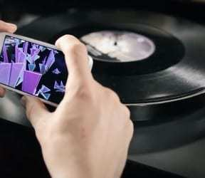 Augmented reality vinyl album brings digital life to vintage tech