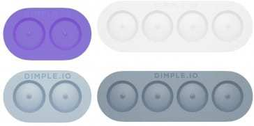 NFC technology enabled Dimple buttons enhance Android phones