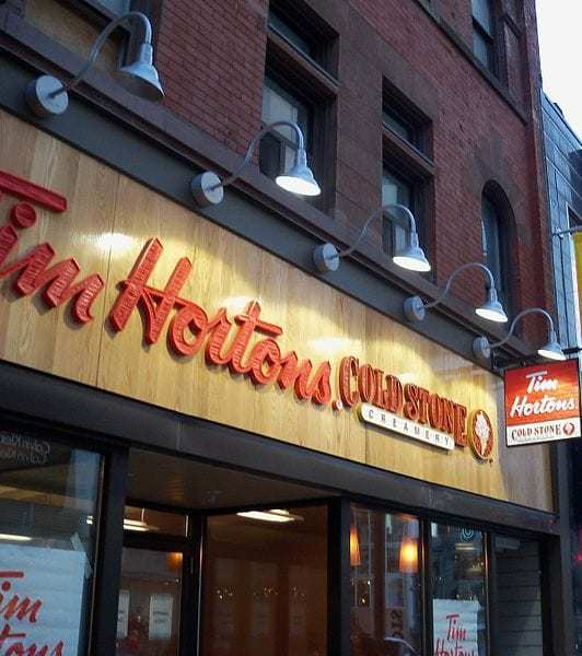 Tim Hortons augmented reality game