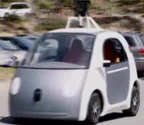 Technology news explodes with new Google driverless car