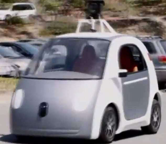 technology news Google driverless self driving car