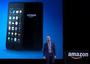 Amazon Fire smartphone unveiled