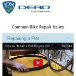 Educational QR code for learning bike repair