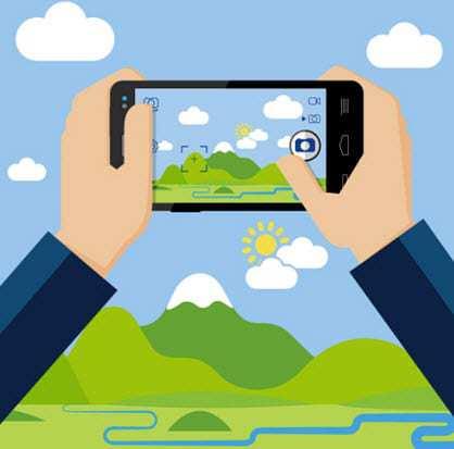 camera augmented reality