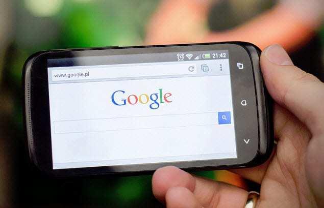 Mobile Google search traffic
