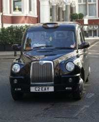 London Cab mobile Payments