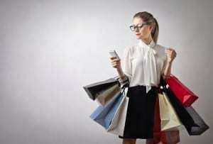 Mobile shopping is rising over the holidays due to app use