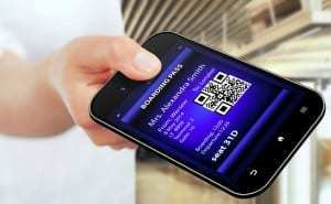 QR code generator made by hacker functions as airport lounge pass