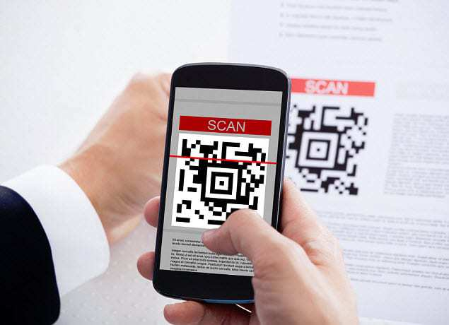 qr code stamp card