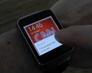 Wearable technology browser available to Android Wear