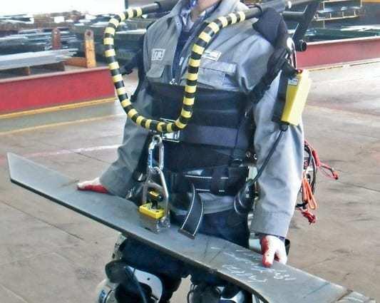 Daewoo wearable tech robotic suit