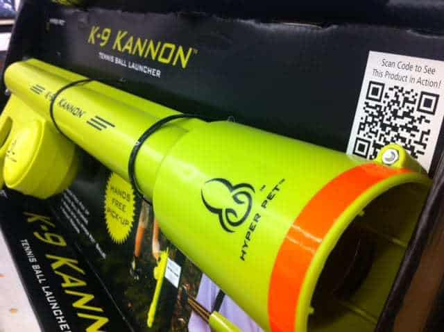 QR Code Detective K-9 Kannon Ball Launcher