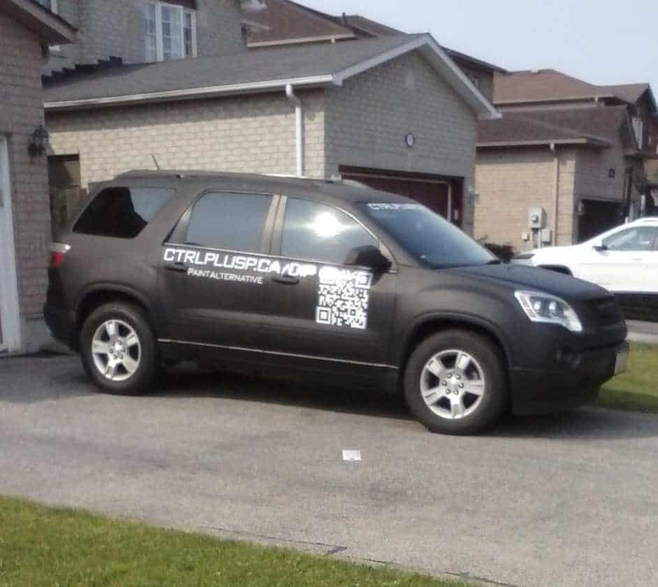 QR Code Detective - barcodes on vehicles