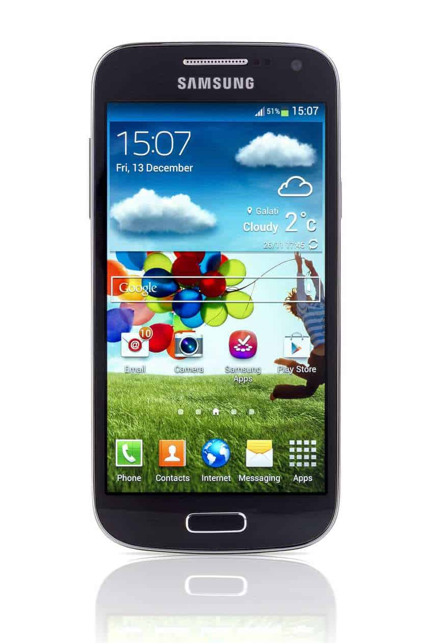 Samsung Galaxy S4 mobile devices