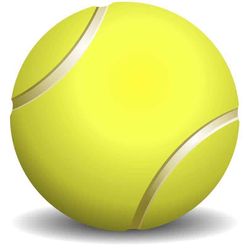 Tennis ball US open smart clothing