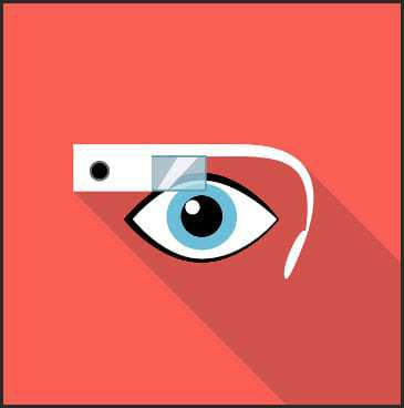 augmented reality google glass mobile app