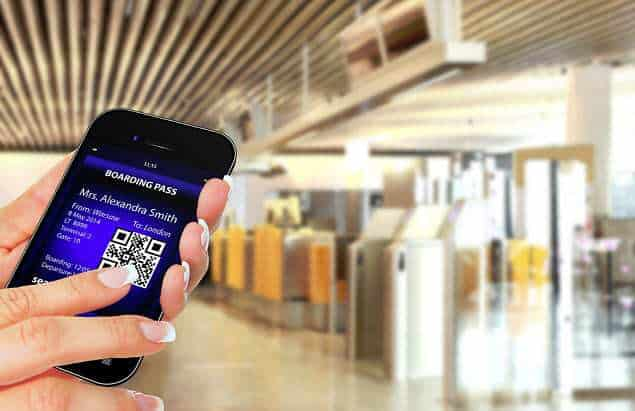 mobile wallet qr codes boarding pass