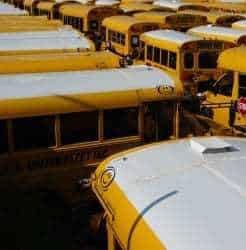 QR codes let parents check the safety of their kids school buses