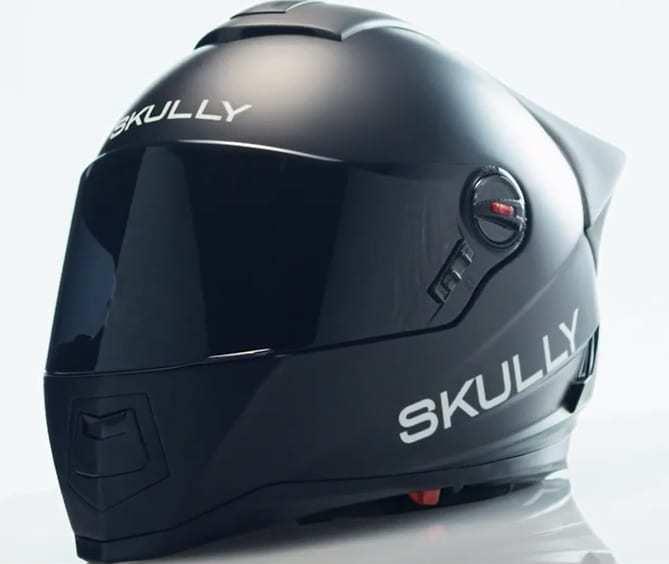 skully augmented reality helmet