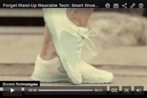 Wearable technology in the form of shoes are coming soon