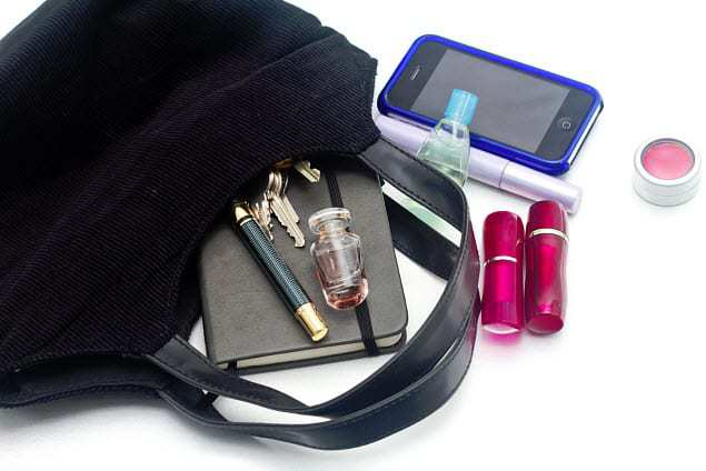 women mobile payments purse
