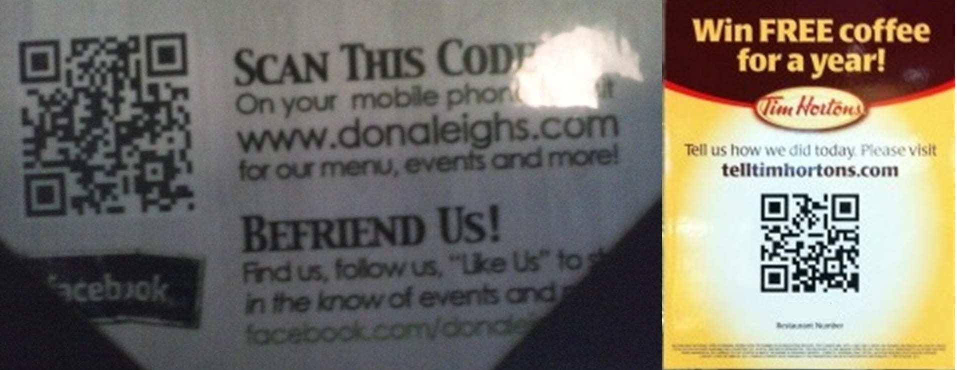 QR code detective - restaurants