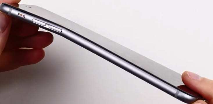 iphone 6 plus bend