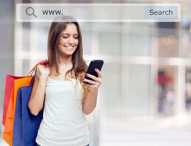 mobile commerce shopping