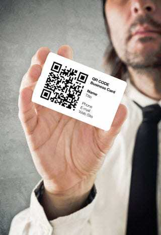 qr codes business card - Quick Response Code Business Card