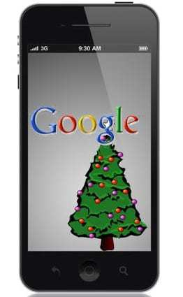 Google mobile search holiday christmas black friday