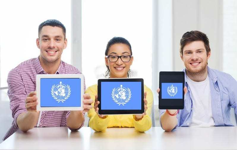 Mobile health mhealth WHO world health organization