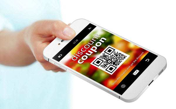 qr codes mobile coupon