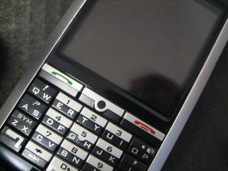 Blackberry software mobile security